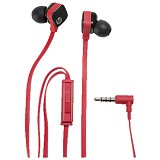 HP In Ear Headset H2310 [J8H45AA] - Red/Black - Earphone Ear Monitor / IEM